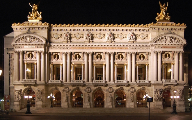 Palais Garnier – Paris – Beaux Arts 1875