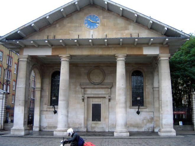 Orden Toscano - St Paul - Iñigo Jones - Covent Garden Londres - 1631 DC