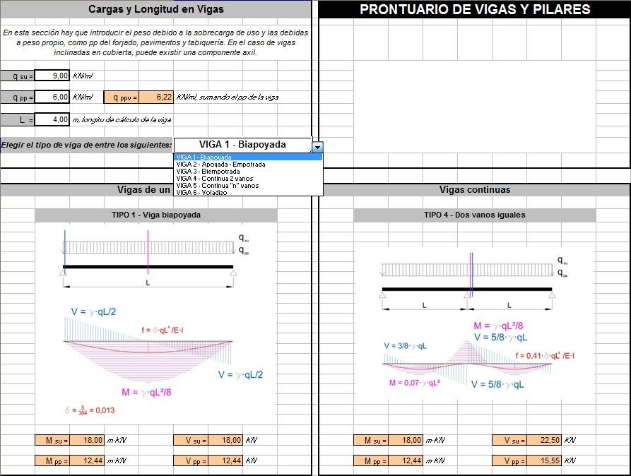 Cálculo de Estructuras: Vigas y Pilares de Madera Maciza y Laminada (2/6)