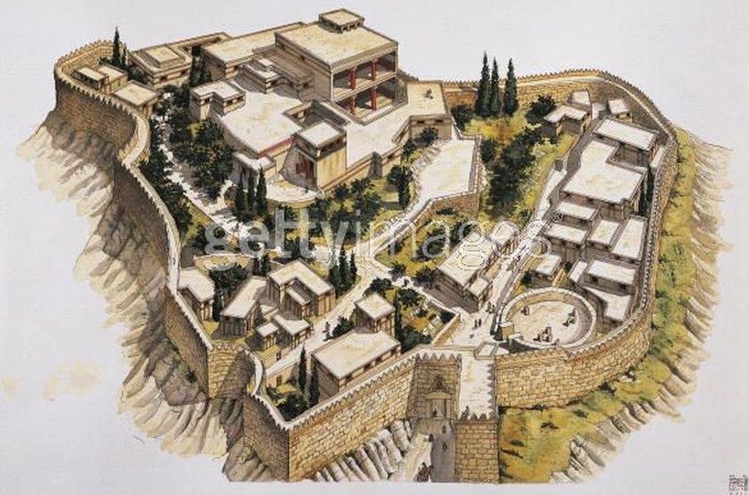 Arquitectura Griega IIIb - Arquitectura Micénica (6/6)