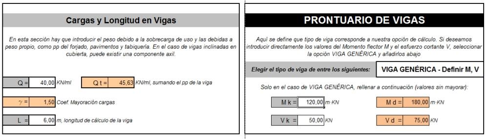 Cálculo de estructuras: Vigas de Hormigón armado (4/6)